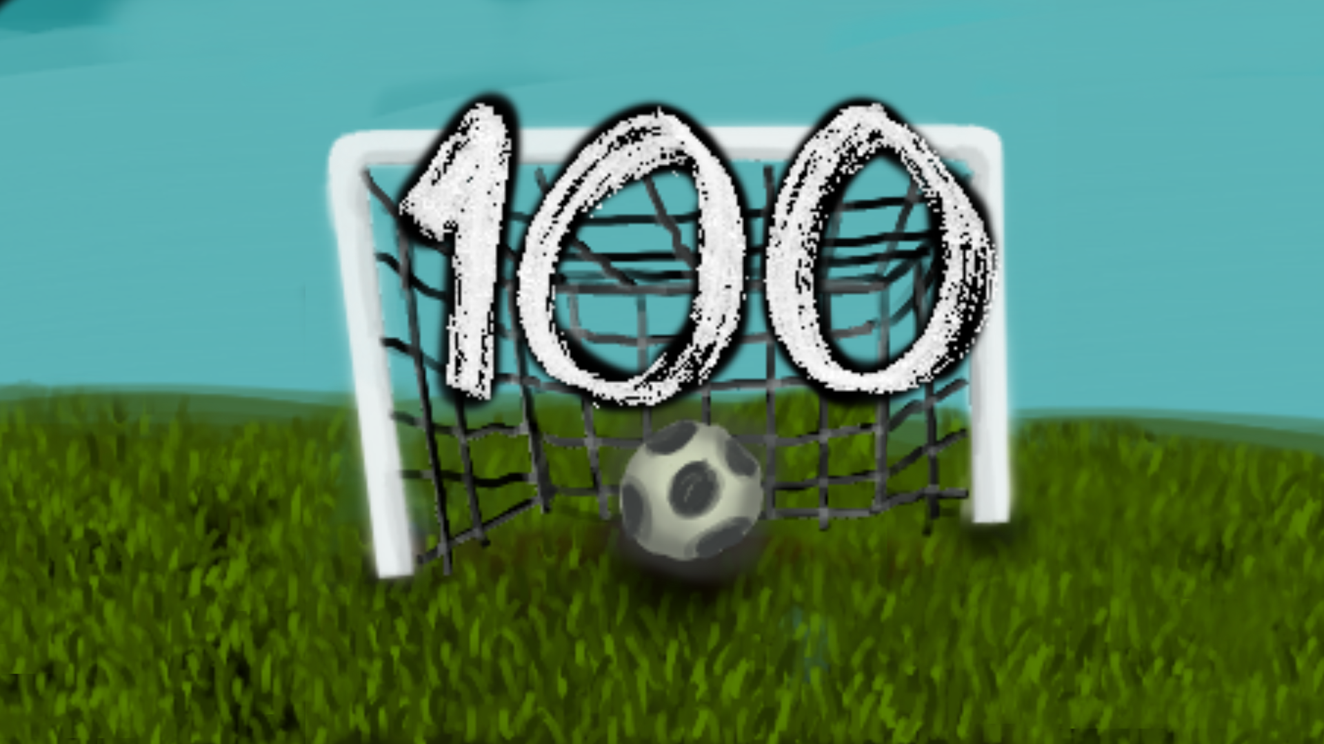 Icon for 100 Goals scored.