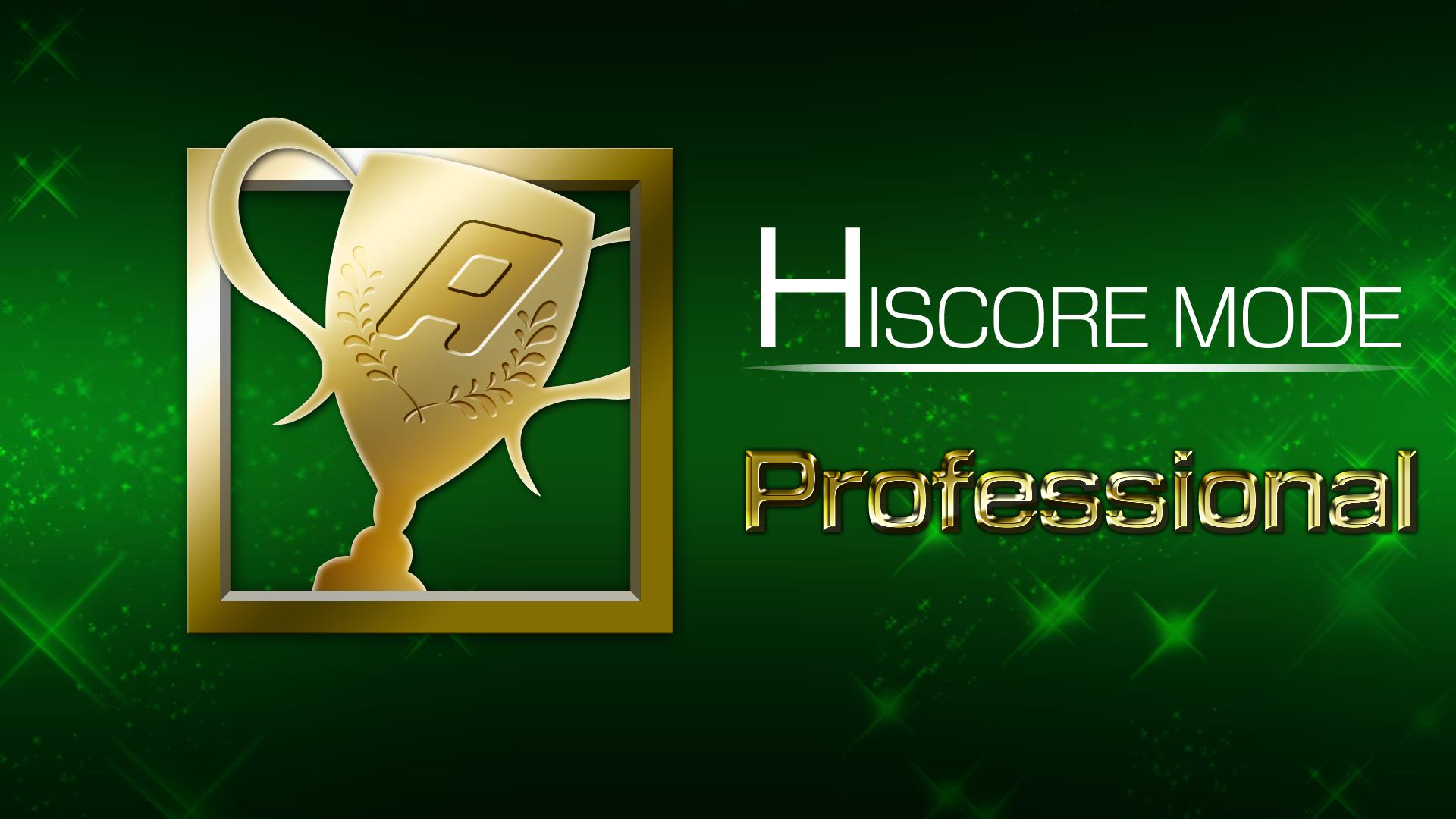 Icon for HI SCORE MODE 3 win(s)
