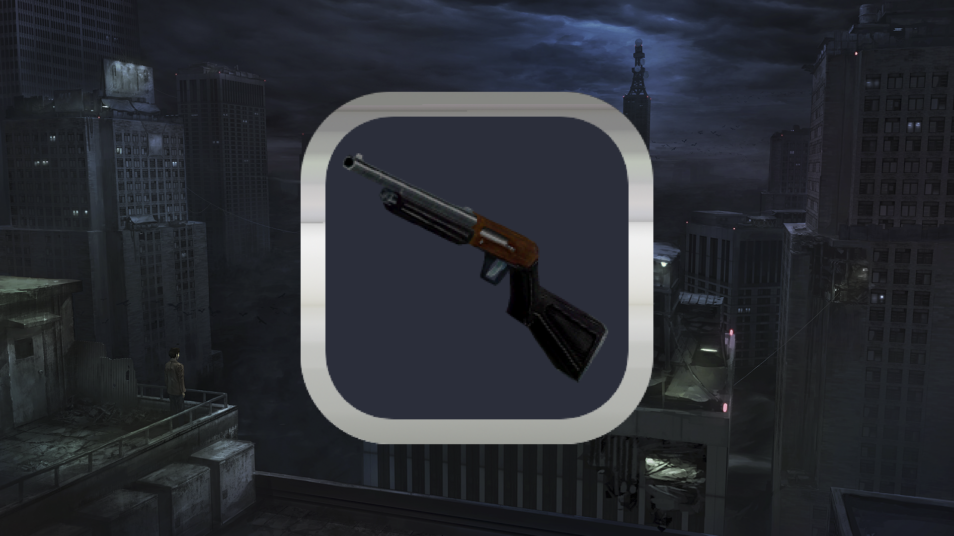 Icon for Looking for really big gun.