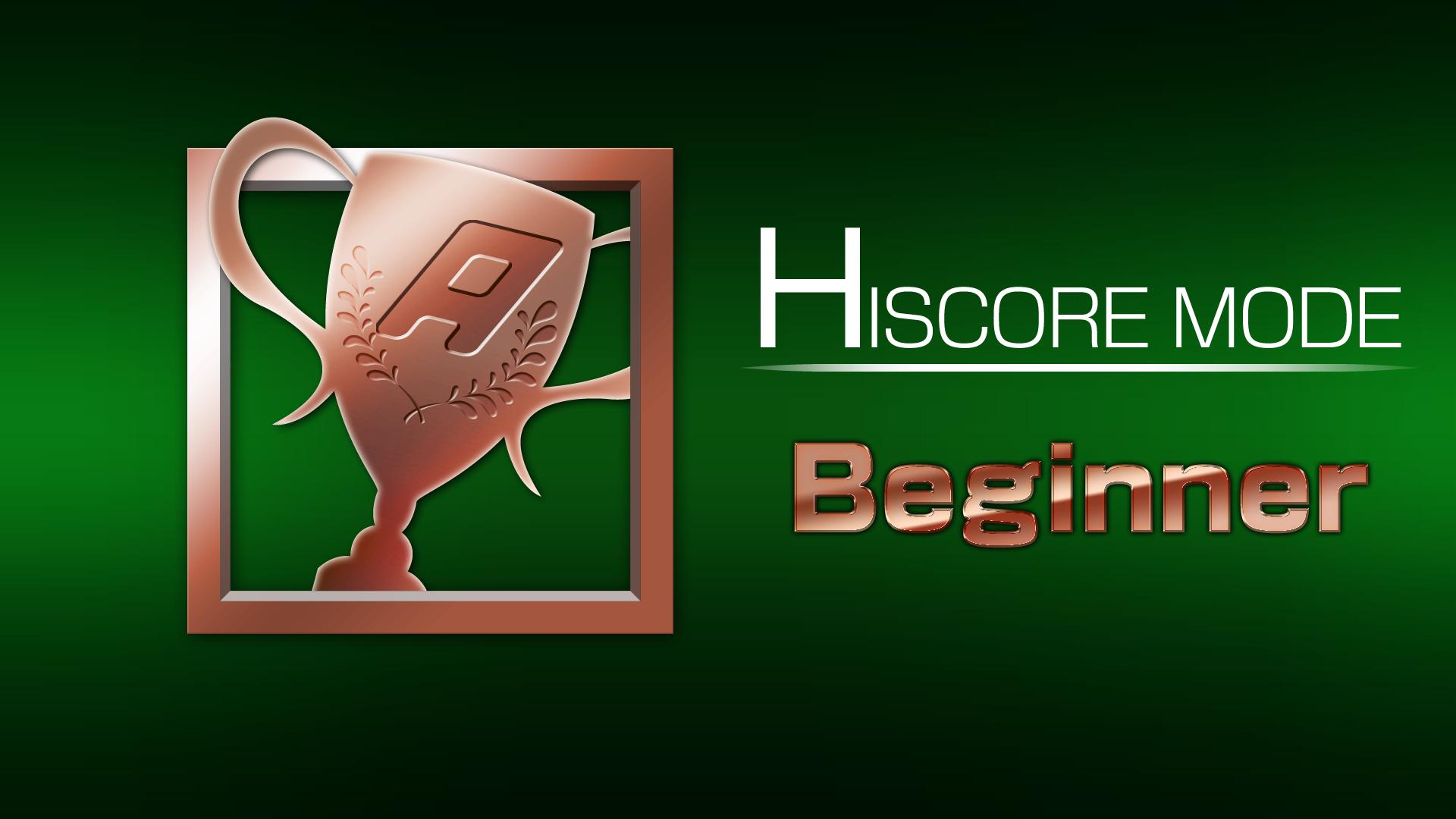 Icon for HI SCORE MODE 1 win(s)