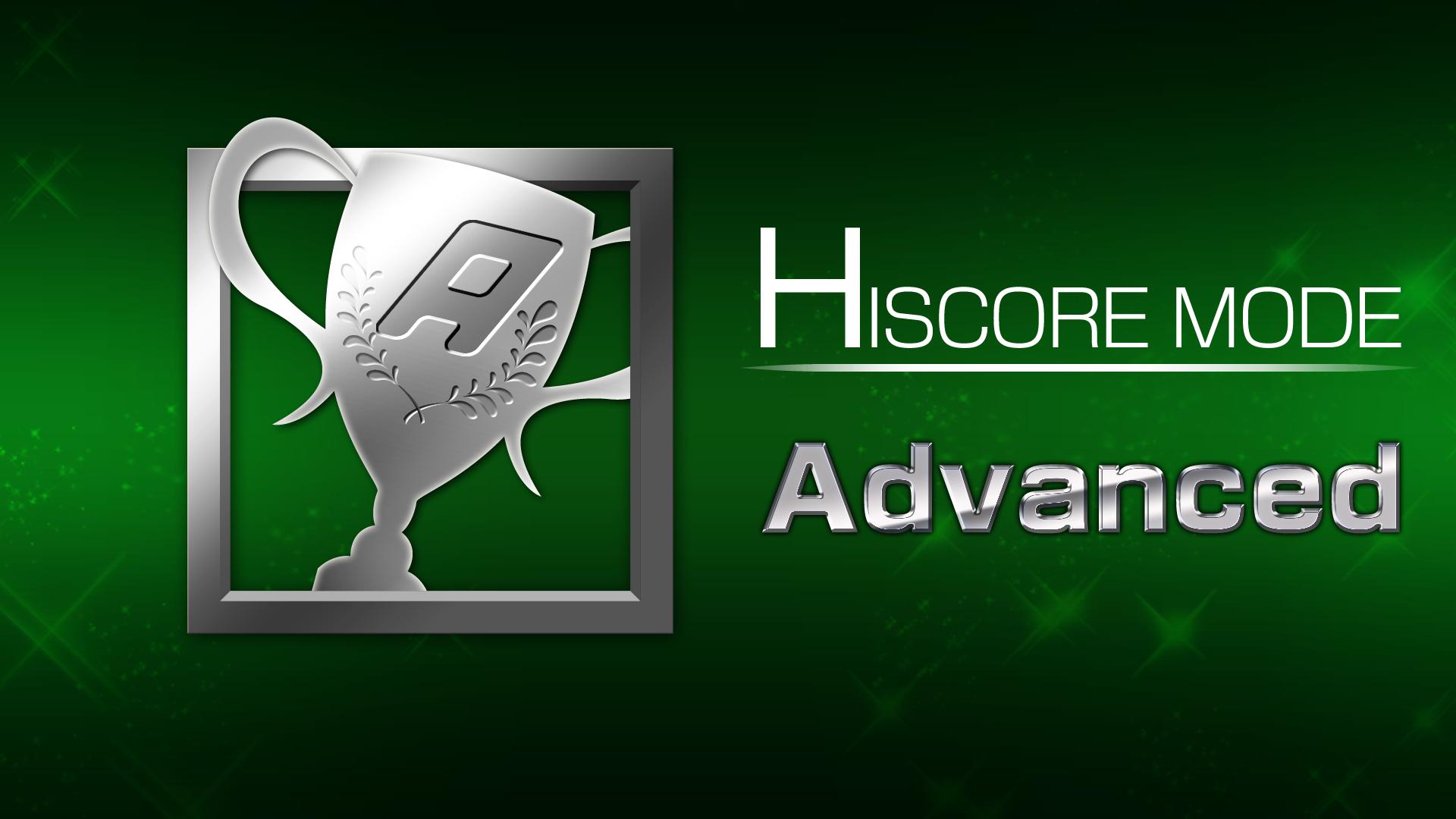 Icon for HI SCORE MODE 4 win(s)