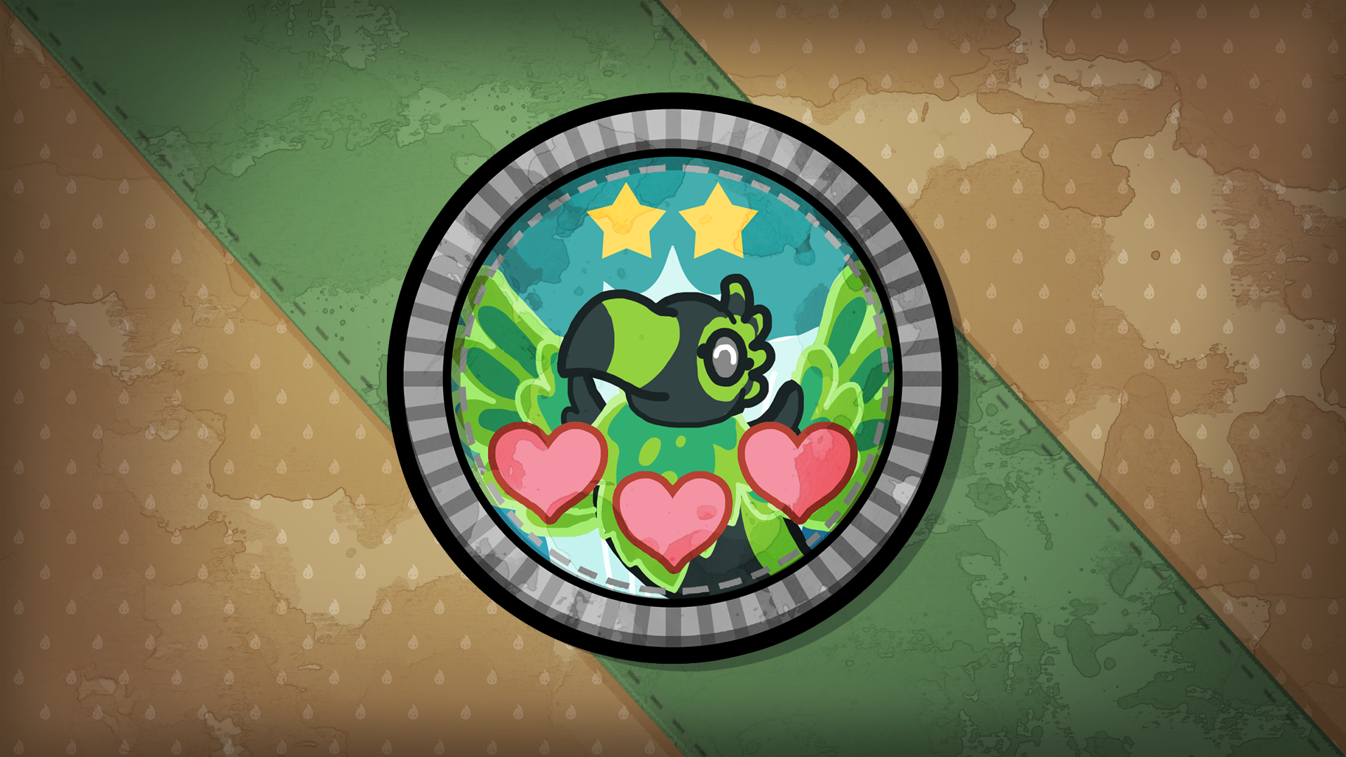 Icon for Animal Caring Tier 3