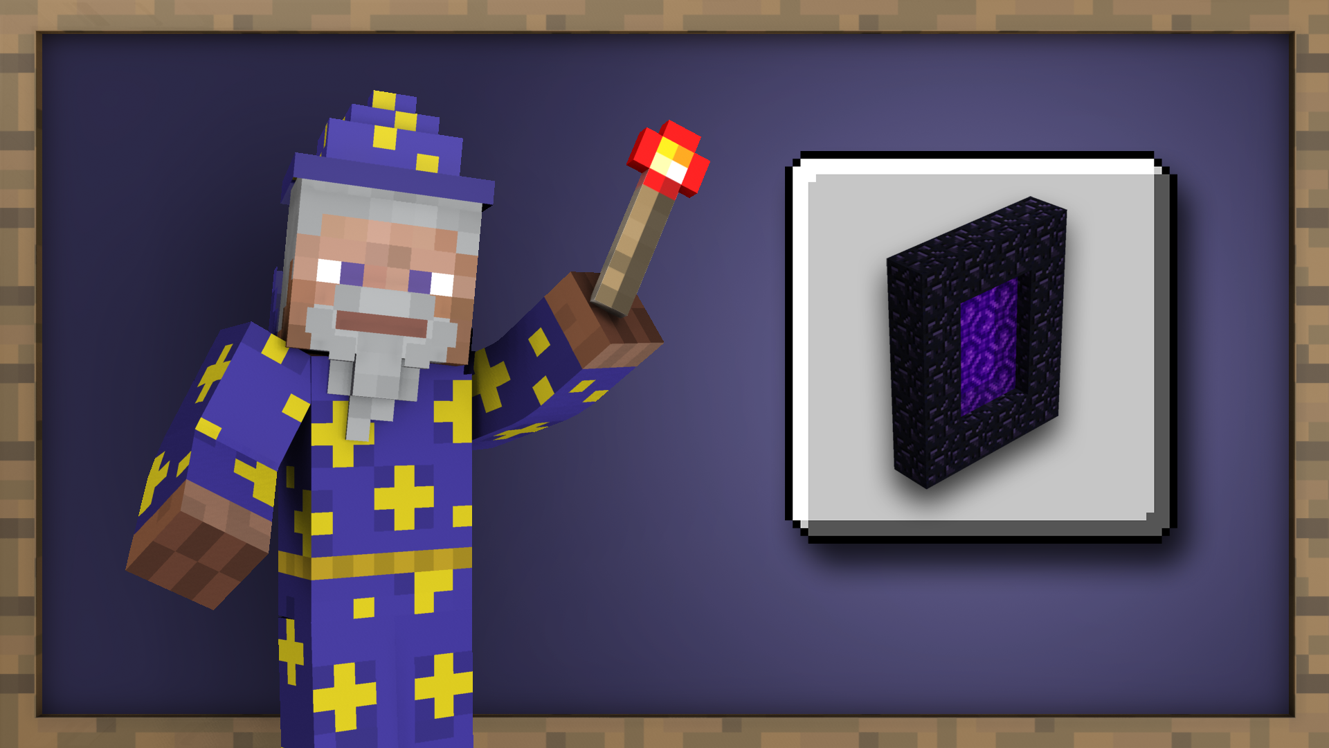 Icon for Into the Nether