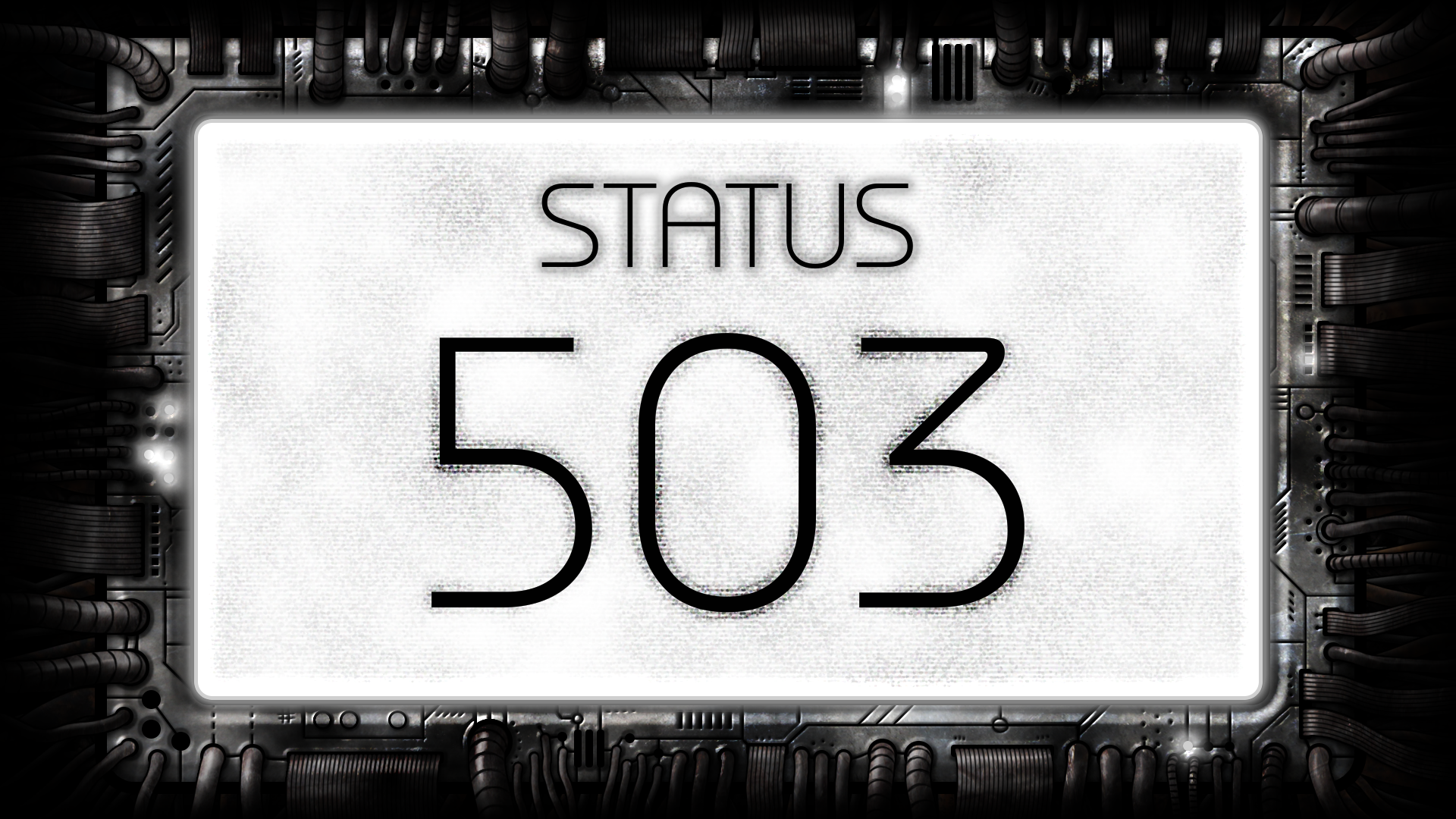Icon for Service Unavailable