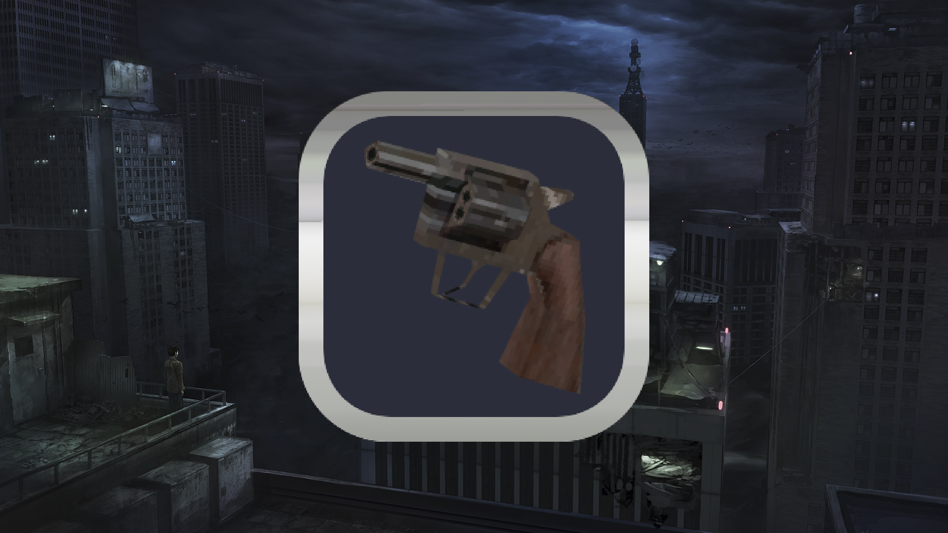 Icon for Kids playing with guns.