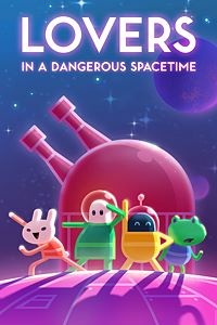 Carátula del juego Lovers in a Dangerous Spacetime de Xbox One