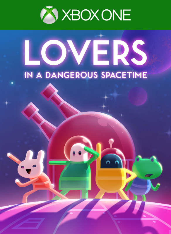 Lovers in a Dangerous Spacetime boxshot