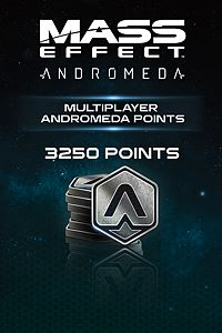 Carátula del juego 3250 Mass Effect: Andromeda Points de Xbox One