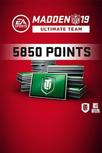 Carátula del juego Madden NFL 19 Ultimate Team 5850 Points Pack