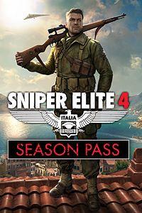 Carátula del juego Sniper Elite 4 Season Pass de Xbox One