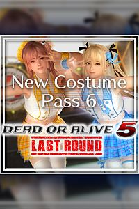 Carátula del juego DEAD OR ALIVE 5 Last Round New Costume Pass 6