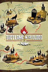 Carátula para el juego The Flame in the Flood de Xbox 360