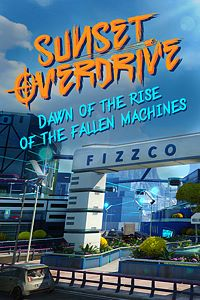 Carátula del juego Sunset Overdrive and Dawn of the Rise of the Fallen Machines para Xbox One