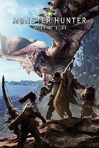 Carátula para el juego MONSTER HUNTER: WORLD de Xbox One