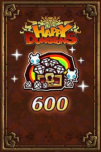 Carátula del juego 600 Happy Jewels de Xbox One