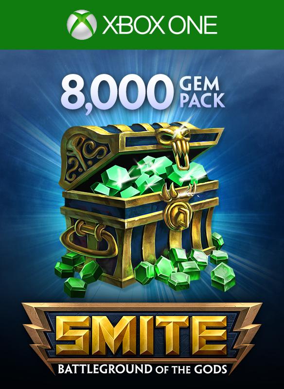 8000 Gems boxshot