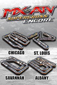 Carátula para el juego Supercross Track Pack 1 de Xbox 360