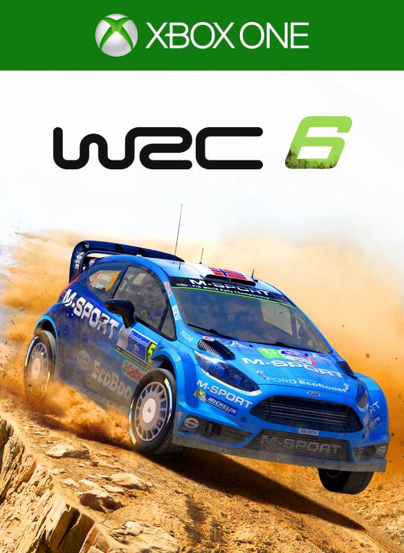 WRC 6 FIA World Rally Championship boxshot