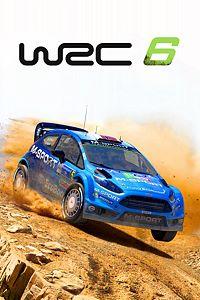 Carátula del juego WRC 6 FIA World Rally Championship