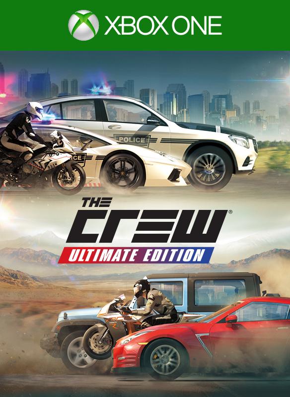 The Crew Ultimate Edition boxshot