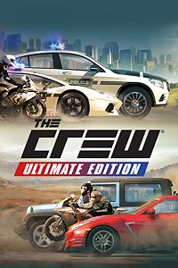 Carátula del juego The Crew Ultimate Edition para Xbox One