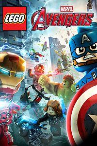 Carátula para el juego LEGO Marvel's Avengers de Xbox 360