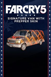 Carátula del juego FAR CRY 5 - Signature Van with Prepper Skin