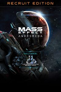 Carátula del juego Mass Effect: Andromeda – Standard Recruit Edition