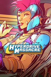 Carátula para el juego Hyperdrive Massacre de Xbox 360
