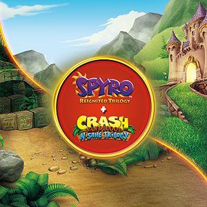 Spyro™ + Crash Remastered Game Bundle Xbox One