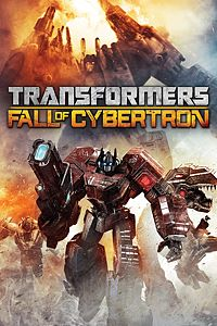 Carátula del juego TRANSFORMERS: Fall of Cybertron