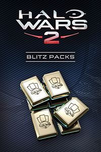 Carátula del juego Halo Wars 2: 9 Blitz Packs + 1 Free de Xbox One