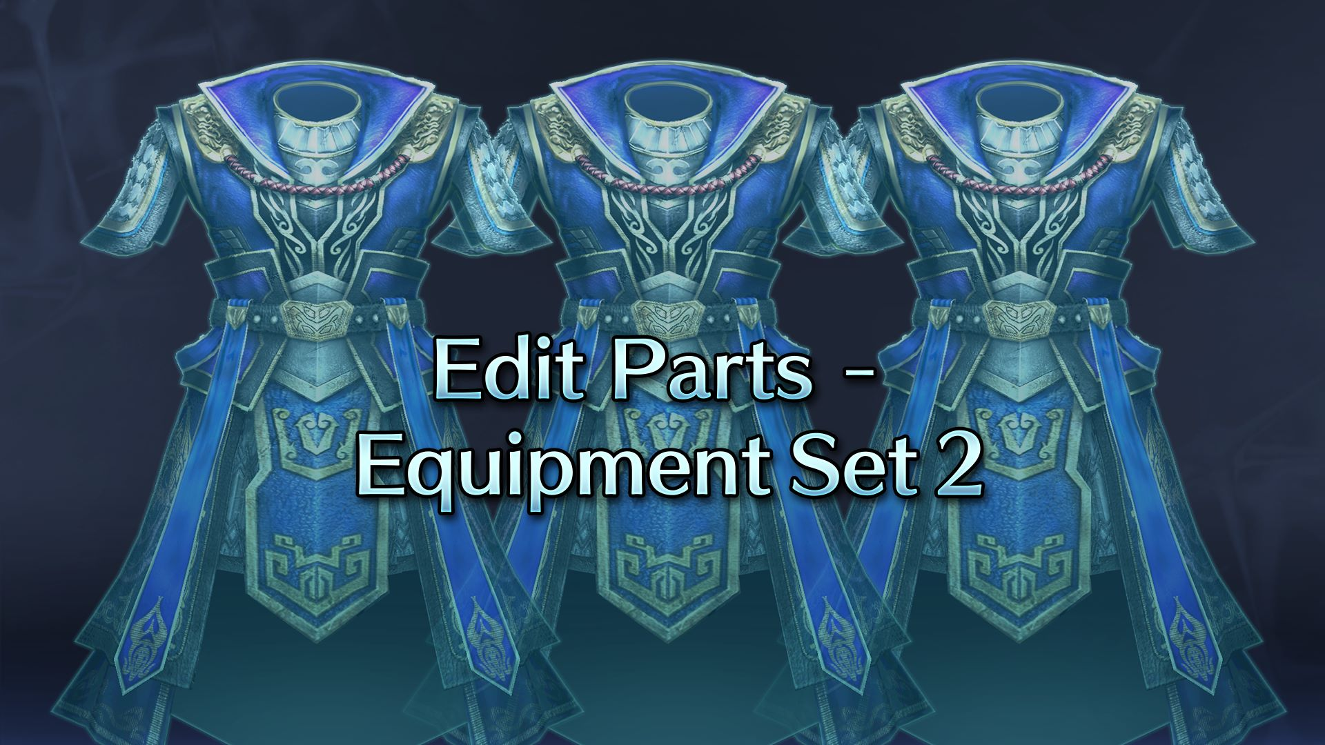 Edit Parts - Equipment Set 2