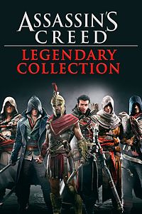 Carátula para el juego Assassin's Creed Legendary Collection de Xbox One