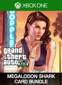 Grand Theft Auto V: Megalodon Shark Card Bundle