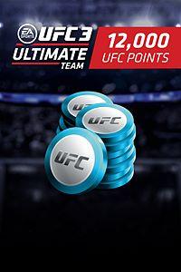 Carátula del juego EA SPORTS UFC 3 - 12000 UFC POINTS