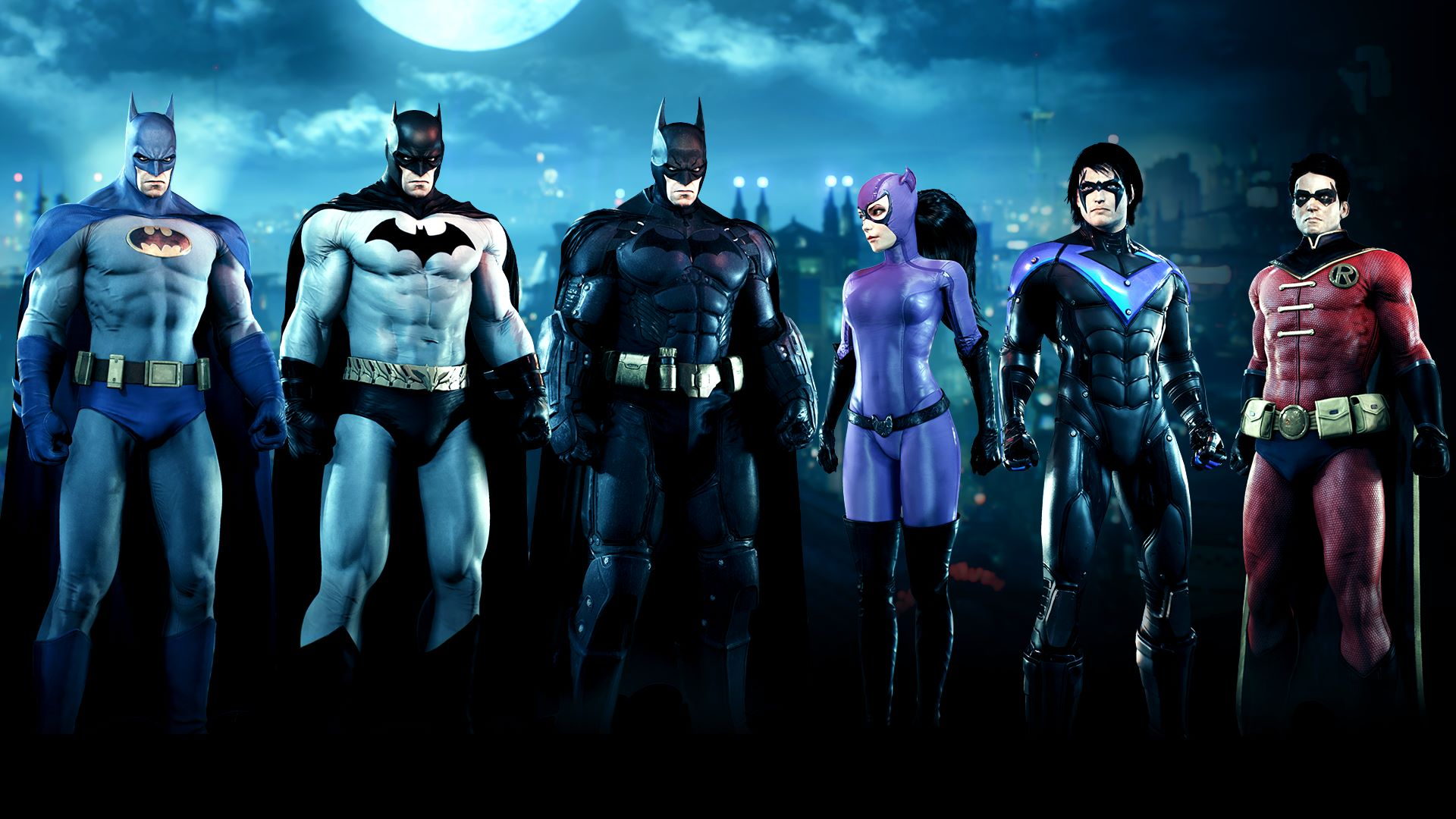 Bat-Family Skin Pack