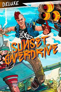 Carátula para el juego Sunset Overdrive Deluxe Edition de Xbox 360