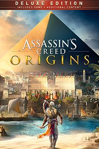 Carátula para el juego Assassin's Creed Origins - DELUXE EDITION de Xbox One