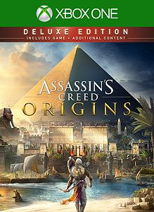 Assassin's Creed® Origins - DELUXE EDITION boxshot