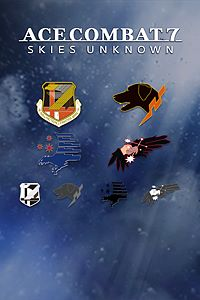Carátula del juego ACE COMBAT 7: SKIES UNKNOWN - 8 Popular Squadron Emblems
