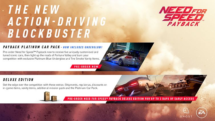 need for speed payback pc download size