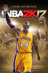 Carátula del juego NBA 2K17 Kobe Bryant Legend Edition Gold de Xbox One