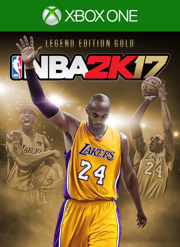 NBA 2K17 Legend Edition Gold  boxshot