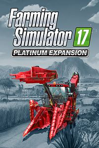 Carátula del juego Farming Simulator 17 - Platinum Expansion