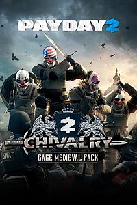 Carátula del juego PAYDAY 2: CRIMEWAVE EDITION - The Gage Chivalry Pack