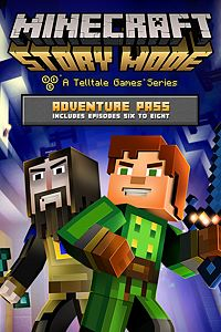 Carátula del juego Minecraft: Story Mode - Adventure Pass (Additional Episodes 6-8) de Xbox One