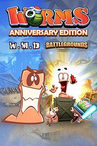 Carátula del juego Worms Anniversary Edition para Xbox One
