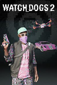 Carátula del juego Watch Dogs2 -KICK IT PACK