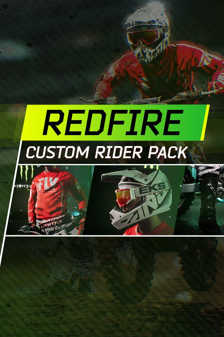 Buy Monster Energy Supercross - Redfire Custom Rider Pack - Microsoft Store  en-GB 48eb3fd49